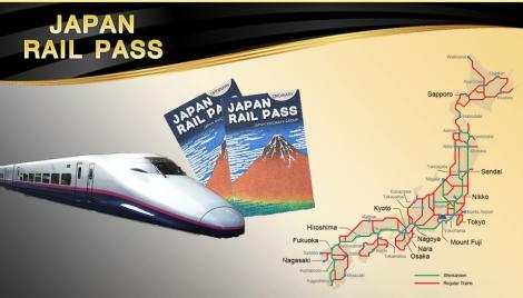 JP Rail Pass price