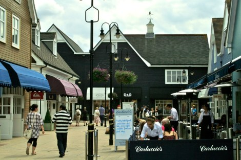 Bicester Village outlet center