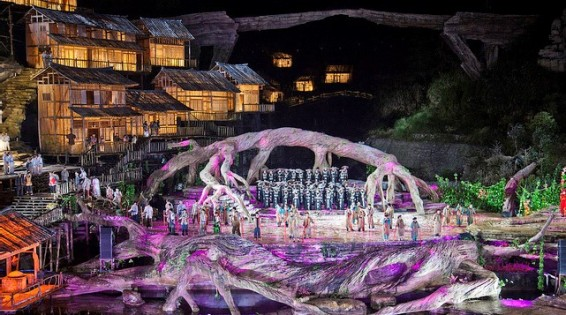 Zhangjiajie Show 1